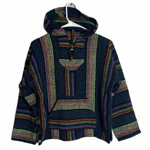 BAJA PONCHO Pullover youth size Medium
